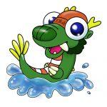 ちび龍水泳